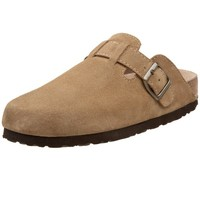 White Mountain Women's Getty Clog,Taupe,10 M US