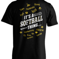 It's a Softball Thing