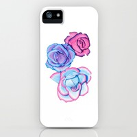 Roses iPhone Case by drawingsbylam