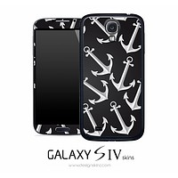 Black & White Anchor Skin for the Galaxy S4