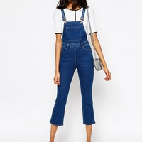 Monki Crop Dungaree