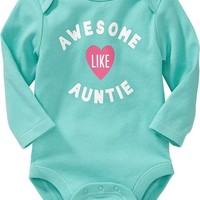 Message Bodysuits for Baby