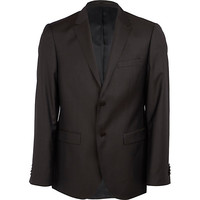 River Island MensDark brown new classic fit suit jacket