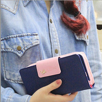 Classic Cute Women's Wallet Candy Color