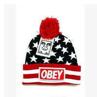Beanies Stiching Caps Obey