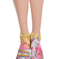 ModCloth Fairytale Quirk It Out Socks in Unicorn