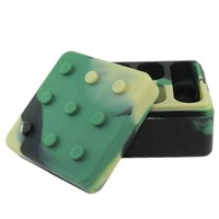 Lego Shaped Silicone Dab Container