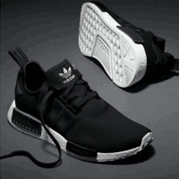 "Women ""Adidas"" NMD Boost Casual Sports Shoes Pure black"