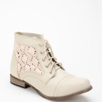 Cooperative Crochet Lace-Up Boot
