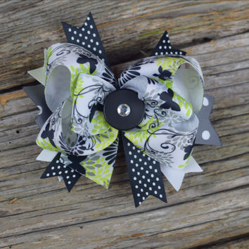 """Layered 5.5"""" Bow by Mandy Lou {Several Colors Available}"""