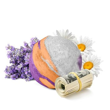 Lavender And Chamomile Cash Bath Bomb