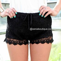 MARLEY LACE SHORTS , DRESSES, TOPS, BOTTOMS, JACKETS & JUMPERS, ACCESSORIES, SALE, PRE ORDER, NEW ARRIVALS, PLAYSUIT,,Shorts Australia, Queensland, Brisbane