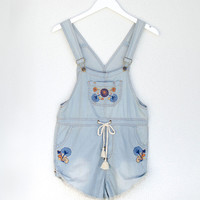 Route 66 Chambray Overalls