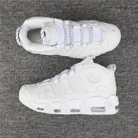 Nike Air More Uptempo 96 All White 921948-100 Size 36---46