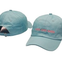beautiful light blue I FEEL LIKE PABLO curved snapback  peaked caps high quality brand casquette hunting hats strapback golf caps PP
