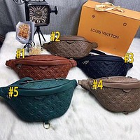 Louis Vuitton LV Hot Selling Classic Zipper Waist Bag Fashion Men's and Women's Shoulder Messenger Bag