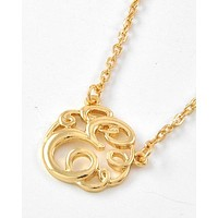 Sassy Initial Necklace