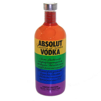 """Absolut Vodka """"Colors"""" Limited Edition"""
