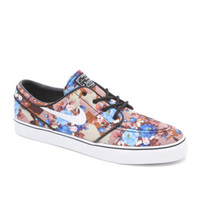 Nike SB Zoom Stefan Janoski Digi Floral Blue Shoes at PacSun.com