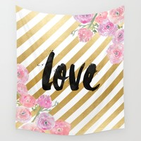 Love Wall Tapestry by All Is One