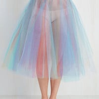 Quirky Fit & Flare Been Around the Twirl Petticoat by ModCloth