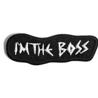 Im The Boss | Patch