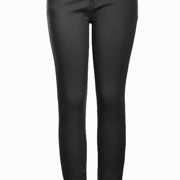 Trendy Skinny 5 Pocket Stretch Uniform Pants