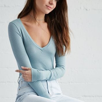 Me To We R + R V-Neck Long Sleeve Top at PacSun.com