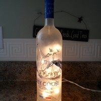 Grey Goose Lighted Bottle - Great Bar Accessory