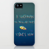 FINDING NEMO 3D  effect iPhone Case by M✿nika  Strigel for iPhone 5 + 4S + + 3 GS + 3 G + skin +ipad mini + laptop + pillow *** BRANDNEW