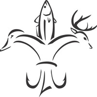 Hunting Sportsman Fleur de Lis Sticker Decal 20 Colors To Choose From.