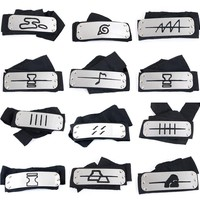 Naruto Sasauke ninja  Kakashi headband cosplay Costumes Accessories toys Props Itachi akatsuki madara Anime headband Props Hot AT_81_8