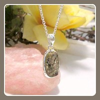Believe & You Will Achieve Rough Astrophyllite Sterling Silver Pendant Box Set