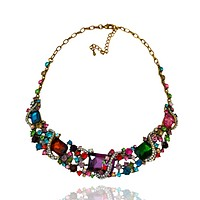 Princess Style Crystal Chain Necklace