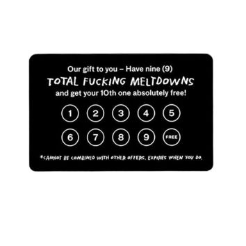 Frequent Meltdown Card
