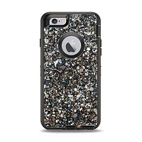 The Small Dark Pebbles Apple iPhone 6 Otterbox Defender Case Skin Set
