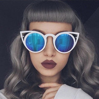 Summer Cat Eye Vintage Design Sunglasses + Gift Box