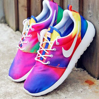 """""""NIKE"""" Trending Fashion casual sports shoes Colorful"""