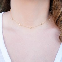 The Annabelle Dainty Gold Choker