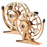 Fly Fishing Reel HI55R CNC Machined Left Right Hand Fly Fishing Reel Freshwater Aluminum Alloy Fly Reel Wheel Fishing Tackle