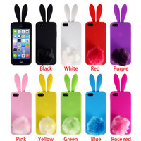 """""""Furry Bunny"""" Case for Iphone 5/5s"""