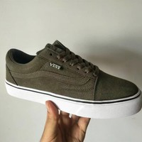 """""""VANS"""" Unisex Fashion Casual Couple Low Help Plate Shoes Skateboard Shoes Sneakers"""