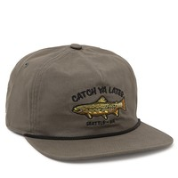 Coal The Great Outdoors Strapback Hat - Mens Backpack - Green - One