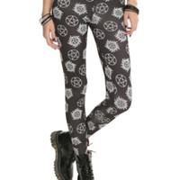 Supernatural Symbols Leggings