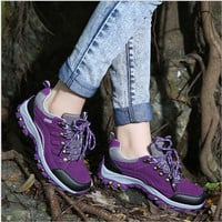 Unisez ankle rubber sport shoes Non-slip waterproof Hiking shoes walking boot