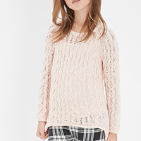 Loose Cable Knit Sweater (Kids)