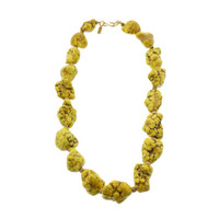 Kenneth Jay Lane Womens Statement Chunk Strand Necklace