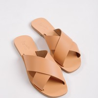 Seychelles Tan Total Relaxation Slide Sandal
