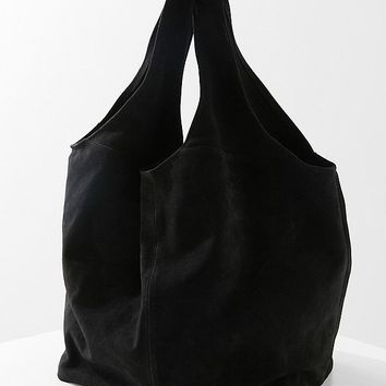 Slouchy Suede Shopper Tote Bag | Urban Outfitters