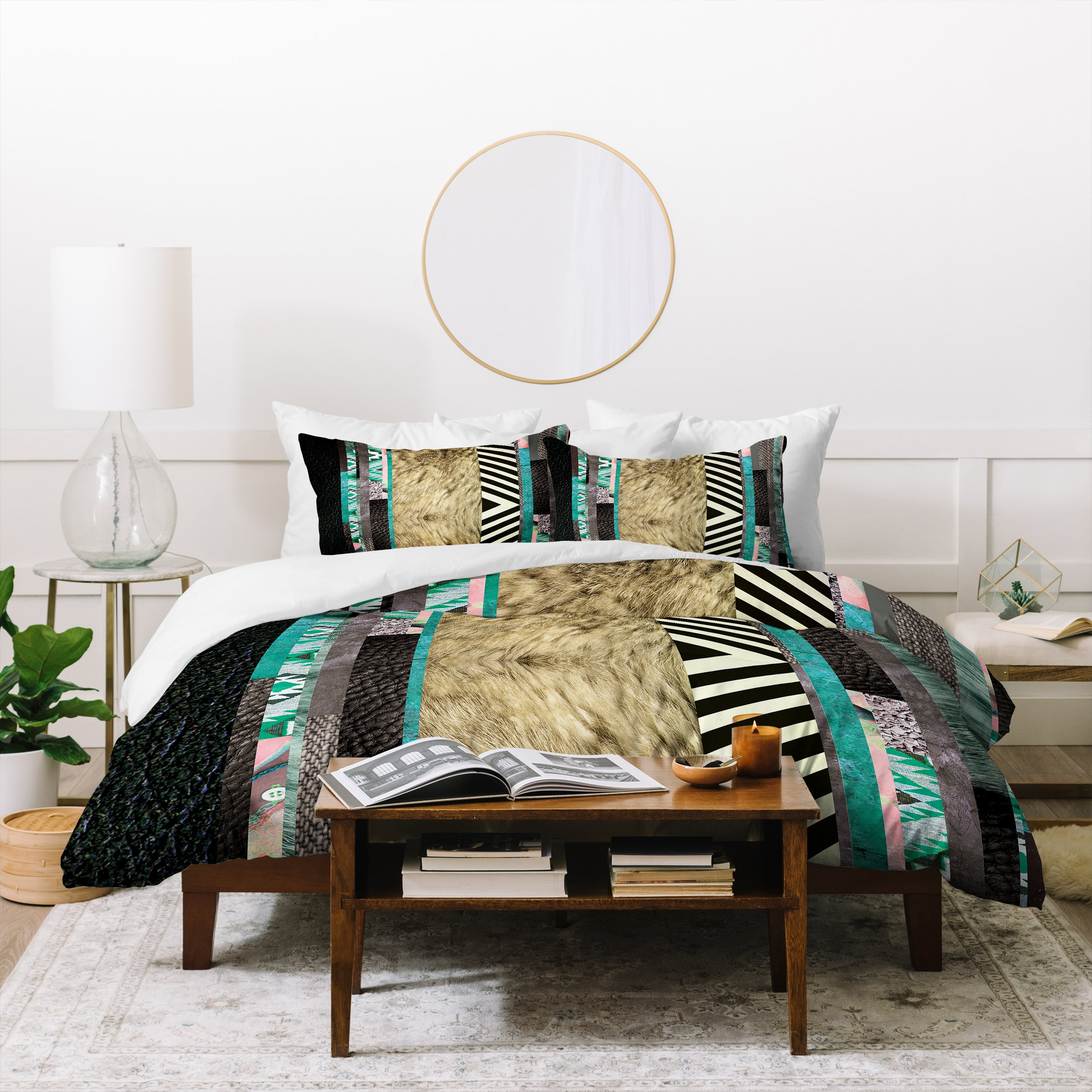 Image of Kei Eudoxie Duvet Cover